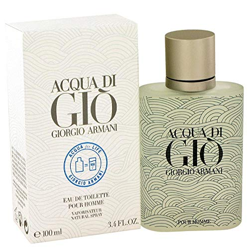 Acqua di Gio Acqua for life 2012 Limited Edition by Giorgîo Ârmani EDT Spray 3.4 FL. OZ./100 - Deodorant Giorgio Shave After