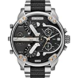 Diesel Watches Mr. Daddy 2.0 Multifunction Leather Watch