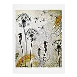 Deny Designs Iveta Abolina Little Dandelion Art Print, 8 x 10