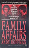 Family Affairs, Andy Hoffman, 0671725211