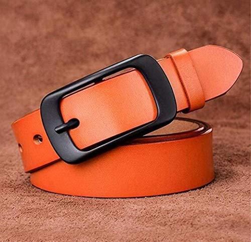 Price comparison product image CTO Damen Ledergürtel Leisure Leather Pure Cattle Belt, A, 110Cm
