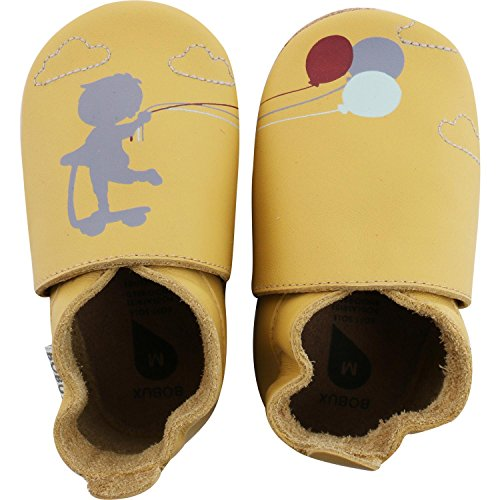 Bobux Luftballon Gelb - Botas de senderismo Bebé-Niños Amarillo (Gelb)