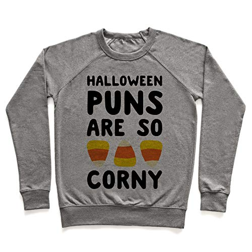 LookHUMAN Halloween Puns are So Corny XL Heathered
