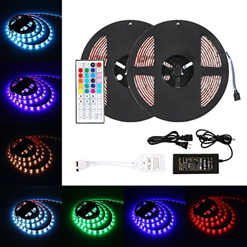 LED Light Strip Kit, RGB 5050 Waterproof 10M/32.8ft
