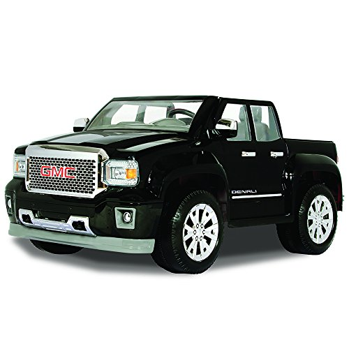 Rollplay GMC Sierra Denali 12-Volt Battery-Powered Ride-On, Black by Rollplay
