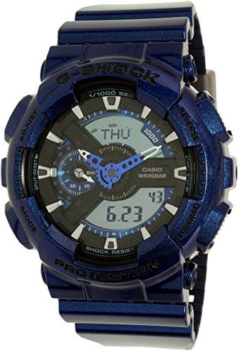 Casio G Shock Blue Tone Digital GA110NM 2A