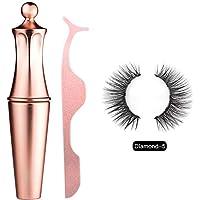 Bulary Magnetic Eyeliner Magnetic Eyelashes Kit Wasserdichter, Langlebiger Eyeliner Mit Falschen Wimpern Magnetischer Eyeliner Zur Verwendung Mit Magnetischen Falschen Wimpern