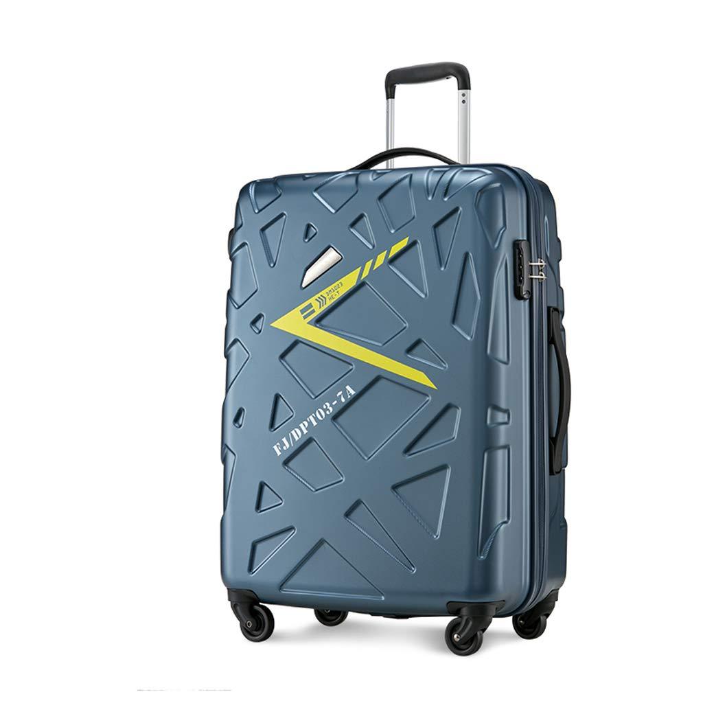 防水アルミフレームスーツケース男性20インチ24インチトロリーケースユニバーサルホイールビジネス搭乗女性のパスワードボックス (色 : ブロンズ, サイズ さいず : 24inch) B07LCC67M5 ブロンズ 24inch