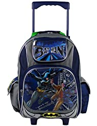 Dc Comics Batman Roller Backpack - Two Face Wheeled School Book Bag