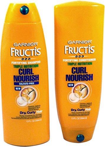 Garnier Fructis Triple Nutrition Curl Nourish Bundle: Shampo