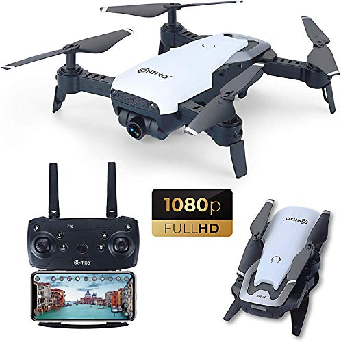Contixo F16 FPV Drone with Camera 1080P HD RC Quadcopter, Labor Day Sales, 6 Axis Gyro, Optical Flow, Follow Me Mode…