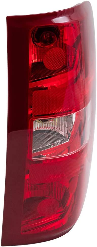 Replacement Driver and Passenger Set Tail Lights Compatible with 2007-2013 Silverado Pickup Truck 25958482 25958483