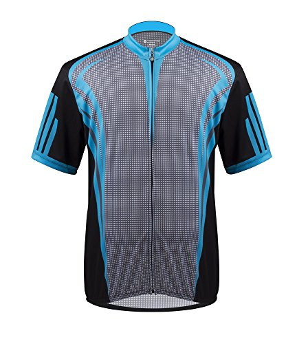 (AERO|TECH|DESIGNS Big Man's Aslan Cycling Jersey - Made in The USA (3XL))