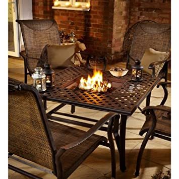 Hartman Fire Pit Table And Four Chairs Set
