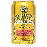 ブローリー プレミアムラガー 缶 (ノンアルコール)  355ML × 24缶