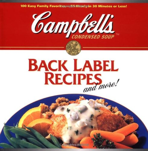 Back Label Recipes and More!