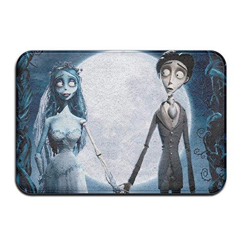 VIND Tim Burton's Corpse Bride Happy Halloween Soft Doormats / Entrance Rug Floor Mats