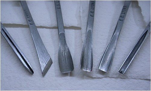 Printmaking Tool Set- Linoleum Tool Set