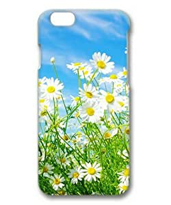 Armener Hard Protective 3D Iphone 6 (4.7 inch) Case With Daisy Flowers