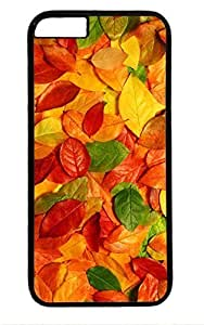 Beautiful Leaf Thanksgiving Easter PC Black Case for Masterpiece Limited Design iphone 6 by Cases & Mousepads