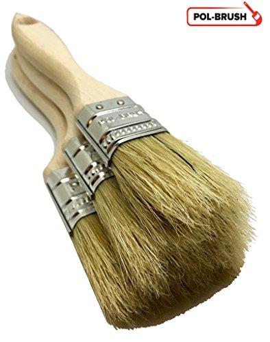 Natural bristle type brush.