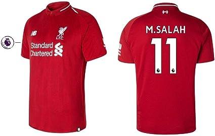 New Balance . Camiseta Hombre FC Liverpool 2018 – 2019 Home pl – M ...