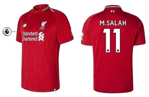 New Balance . Camiseta Hombre FC Liverpool 2018 - 2019 Home pl - M ...