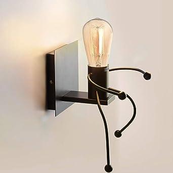 À Déco Rétro Applique Industrielle Murale Lumière E27 Art SalonChambre InterieurCozihoma Coucher Creative Iron Pour Lampe WD2eIYEH9b
