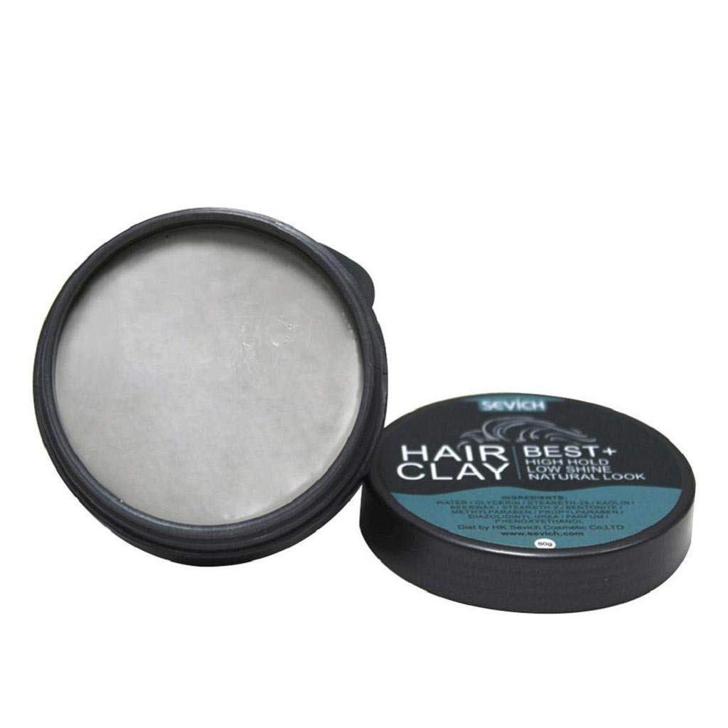 Men Hair Pomade, 12shage Men Hair Oil Wax Hair Styling Gel Forming Cream Strong Hold Matte Finished Hair Spray
