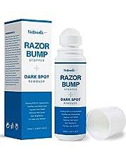EnaSkin Razor Bump Stopper Skin Care Solution for Men and Women with Dark Spot Remover, Roll on Ingrown Hair and Razor Burns