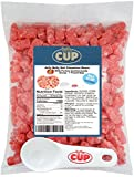 Jelly Belly - 1 Pound Bag, Unbearably HOT Cinnamon Bears - with By The Cup Portion Control Candy Scoop