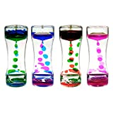 Toys : Xubox Liquid Motion Bubbler, Floating Liquid Motion Timer for Sensory Play, Fidget Toy, Children Activity, Calming Down Toy, Visual Relaxation Desk Toy, Assorted Colors ADHD Focus Anxiety Relief Toys