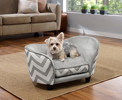 51jIAWhpbQL - Enchanted Home Pet Snuggle Pet Sofa Bed