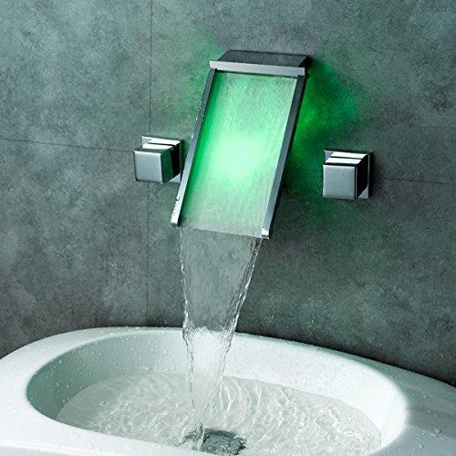 Armaturen waschbecken wand  LINA-Wasserfall heißen neue Waschbecken warm / kalt Sanitär ...