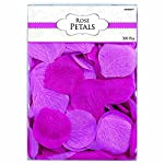 amscan-Bold-Bright-Pink-Rose-Flower-Petals-2-Purple