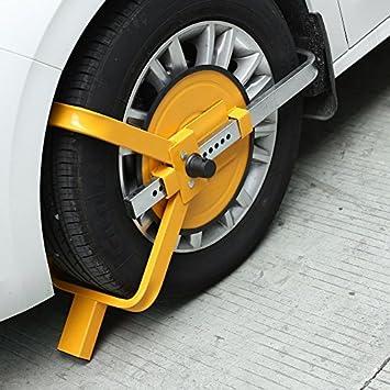 Femor - Cepo antirrobo para rueda de caravana, coche o remolque de acampada: Amazon.es: Coche y moto