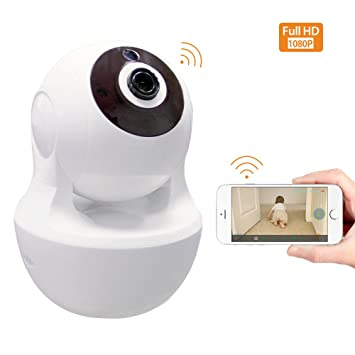 Home Security Camera, Smart Dog Camera 1080P WiFi IP Camera Two-Way Audio  Baby Elderly Nanny Pet Shop Monitor 2 4Ghz Wireless Indoor Security