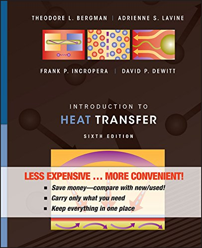 Introduction to Heat Transfer, Binder Ready Version
