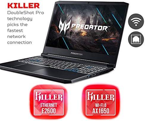 Acer Predator Helios 300 Gaming Laptop, Intel i7-10750H, NVIDIA GeForce RTX 2060 6GB, 15.6″ Full HD 144Hz 3ms IPS Display, 16GB Dual-Channel DDR4, 512GB NVMe SSD, WiFi 6, RGB Keyboard, PH315-53-72XD 51jIBKNy3bL