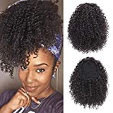 Best Hair Extension Ponytail Real Hairs - Vigorous Synthetic Afro Kinky Ponytail for Black Women Review