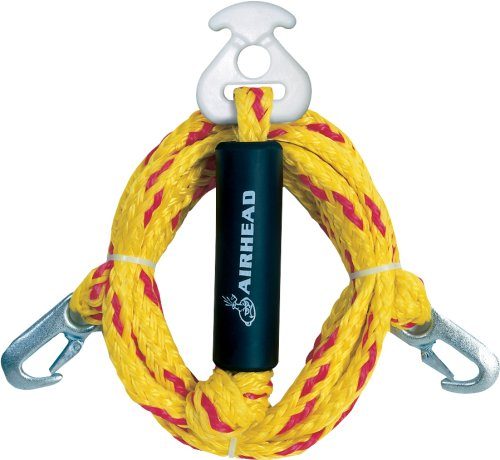 AIRHEAD Heavy Duty Tow Harness, 12ft (Hook Tow Rope)