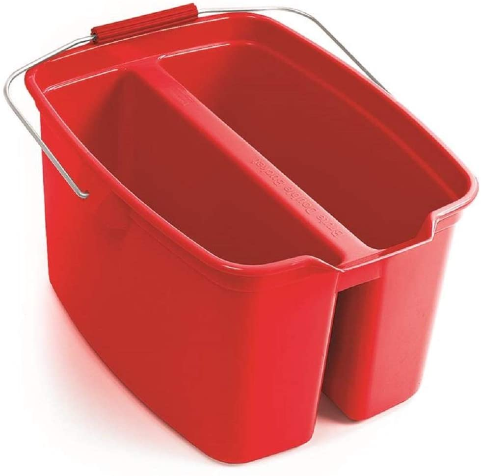 Rubbermaid W 1887094 Double Pail with Handle