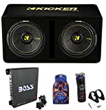 12 inch subwoofer and amp package - Kicker 44DCWC122 12