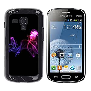"For Samsung Galaxy S Duos S7562 , S-type Resumen de humo"" - Arte & diseño plástico duro Fundas Cover Cubre Hard Case Cover"