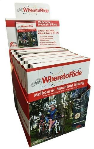- Where to Ride Melbourne Mountain Biking: 6 Copies Counter Pack