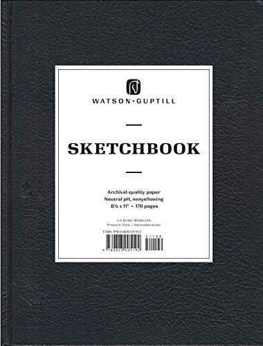 Large Sketchbook (Kivar, Black) (Watson-Guptill Sketchbooks)