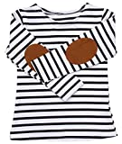 C&M Wodro Baby Girl Boy Winter Long Sleeve Stripe Tops T-Shirt Blouses Autumn Outfits…