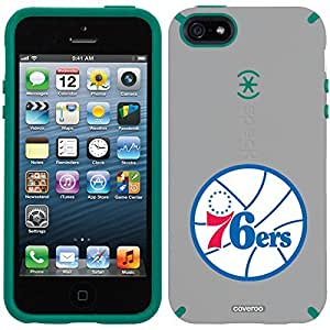 Speck iphone 5c Grey CandyShell Case with Philadelphia 76ers 76ers Design by Coveroo