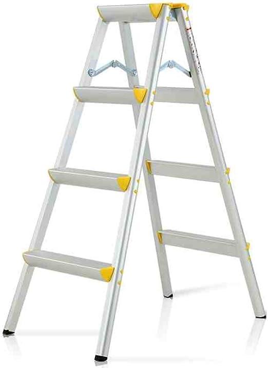 WSWJJXB Escalera de Paso de aleación de Aluminio para Adultos, Escalera Pesada de 4 peldaños, escalón Ancho, 150 kg: Amazon.es: Hogar