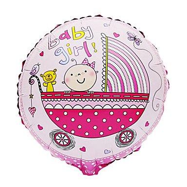 EY rosa para cochecito de bebé niña de aluminio-cono-baby shower para fiesta